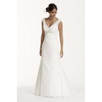 Vestido Noiva Sereia Tradicional Em Renda Nobre 3 Cores