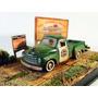 Diorama Studbaker 2r Truck 1952 Verde Customiz E Env 1:64 M2