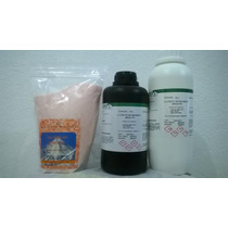 Kit Cloreto Magnesio Pa 1 Kg+sal Rosa+ Bicarbonato Pa 1kg