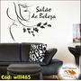 Adesivo Decorativo Beleza Rosto Nome Cabeleireira Will465