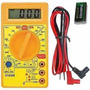 Multímetro Digital Dt830 Com Cabo De Multiteste Testador