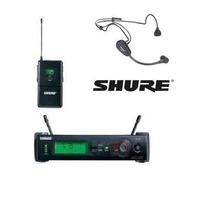 Microfone Shure Facial Sem Fio Slx 14 Pg31 Head Set