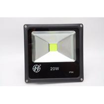 Refletor Led Holofote Branco Quente 20w Bivolt Prova D