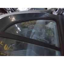 Vidro Fixo Da Porta Traseira Esquerda Kia Sephia 95