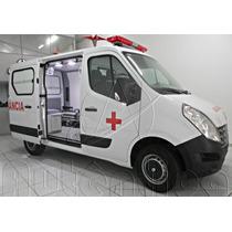 Renault Master Ambulância Simples Remoção L1h1 8m³