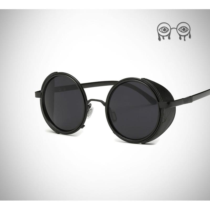 9439e8fa007e7 Oculos De Sol Com Lentes Redondas E Proteção Lateral em Congonhas ...