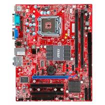 Placa Mae Msi G31tm Lga 775 Ddr2 Chipset Intel G31