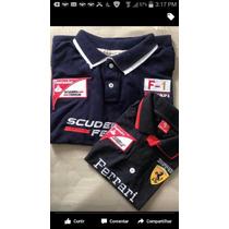 Blusa Camisa Polo Ferrari Tal Pai Tal Filho! Promoção!