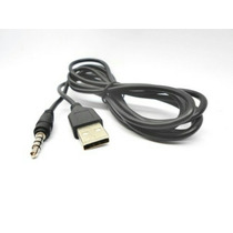 Cabo P2 X Usb Macho Som Autoradio Mp3