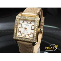 Relógio Feminino Original Guess 0068 - 35 Mm C/ 3 Pulseiras