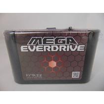 Flashcard Mega Everdrive V2 Krikkz Para Mega Drive E Genesis