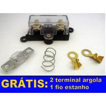 Kit Instalação Porta Fusivel Midi + Fusivel 80a + 2 Brindes