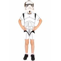 Fantasia Stormtrooper Infantil Star Wars Original Promoção
