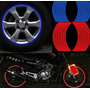 Faixa Adesivo Refletivo Moto Carro Bike Kit 4 Rodas