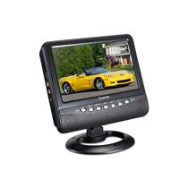 Mini Tv Lcd 7.5 Polegadas Com Radio Fm Design Elegante.