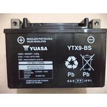 Bateria Yuasa Ytx9-bs - Cb 500 / Shadow / Cbr 900 / Xt 600