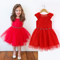 Vestido Infantil Festa Renda Com Tiara Pronta Entrega