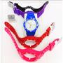 Kit Relógio Champion Troca Pulseiras - 5 Pulseiras Colors