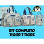 Kit Bolsas Maternidade E Frasqueira Tigor T.tigre Original