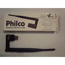 Adaptador Wireless 2 Usb Philco Original