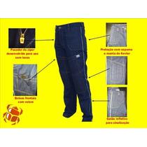 Calça Jeans Motociclista Khepra Com Proteção Kevlar