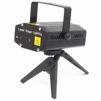 Kit Mini Projetor Holografico Laser + Mini Strobo Frete Free