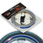 Adesivo Friso Fita De Roda Refletivo P Moto Azul Speed Style