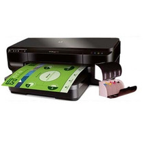 Impressora A3 Hp Officejet 7110 + Bulk Ink + Tinta 400ml