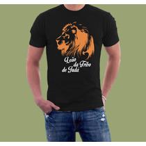 Camiseta Personalizada Leão Da Tribo De Judá
