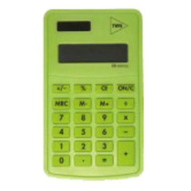 Calculadora De Bolso Pop Office 8 Digitos Verde Tris