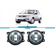 Par Farol Milha Neblina Renault Logan 2008 2009 2010 2011