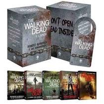 Box The Walking Dead (5 Livros) + Brinde + Walking Dead 6