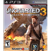 Uncharted 3 Drakes Deception - Ps3 Dublado