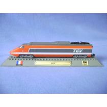 Locomotiva Tgv - Trem Miniatura - Del Prado Collection