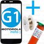 Tela Vidro Moto G 1 Geração Xt1032 Xt1033 G1 + Cola Uv + Fio