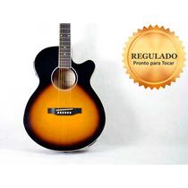 Violão Epiphone Pr4-e Ltd. Vintage Sunburst Cordas De Aço