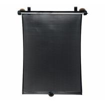 Protetor Solar Retrátil Para Vidro De Carro Preto Disney