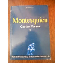 Montesquieu Cartas Persas Volume 1