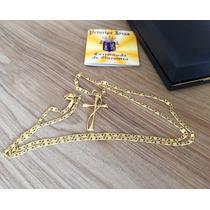 Cordão De Ouro 750, 8 Gramas, 62cm, Com Estojo