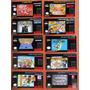 Labels - Etiquetas Para Cartuchos Super Nintendo - S-nes