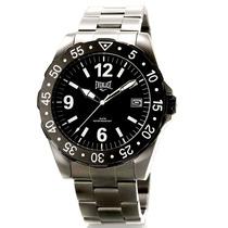 Relógio De Pulso Masculino Everlast Aço Inox Original Ufc