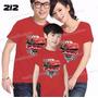 Camiseta Carros Macqueen Personalizada Aniversario Kit Com 3