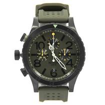 Relógio Masculino Nixon 48-20 Chrono Pu Surplus Black