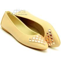 Sandalia Rasteira Stilo Via Uno Alta Qualidade E Conforto