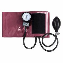 Esfigmomanômetro Aparelho Pressão Velcro Bordo Vinho Pa Med