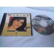 Cd Marina - Minha História - Remasterizado
