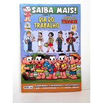 Revista Saiba Mais N°20 Dia Do Trabalho Turma Da Mônica