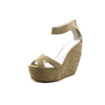 Plomo Almudena Mulheres Aberto Dedo Do Pé Camurça Sapatos