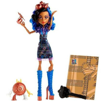 Boneca Monster High Aula De Artes Robecca Mais Brindes