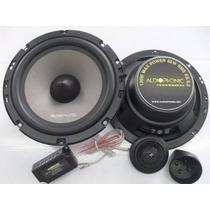 Kit 2 Vias Audiophonic Sensation Ks 6.2 130w Rms 6.5 Poleg.